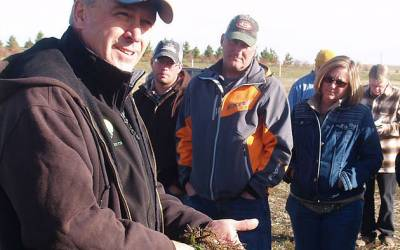 Soil Aggregates Found in Great Soil 'Just Like Christmas'